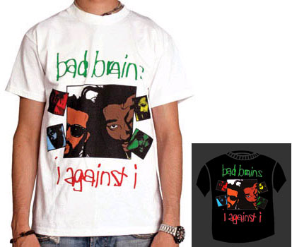 Bad Brains- I Against I shirt