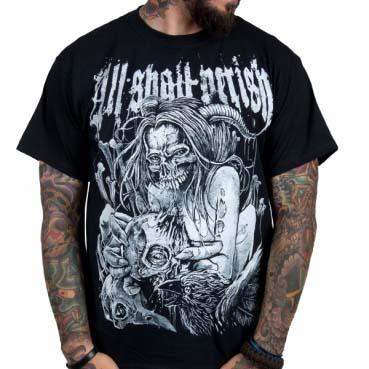 All Shall Perish- Bird Flu on a black shirt