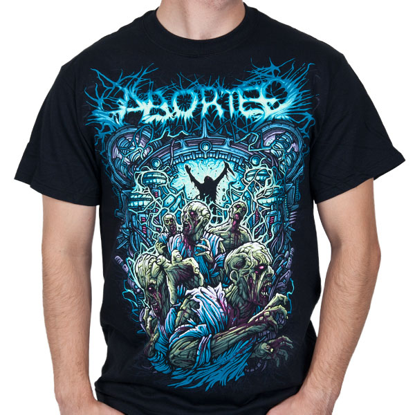 Aborted- Demon on a black shirt (Sale price!)