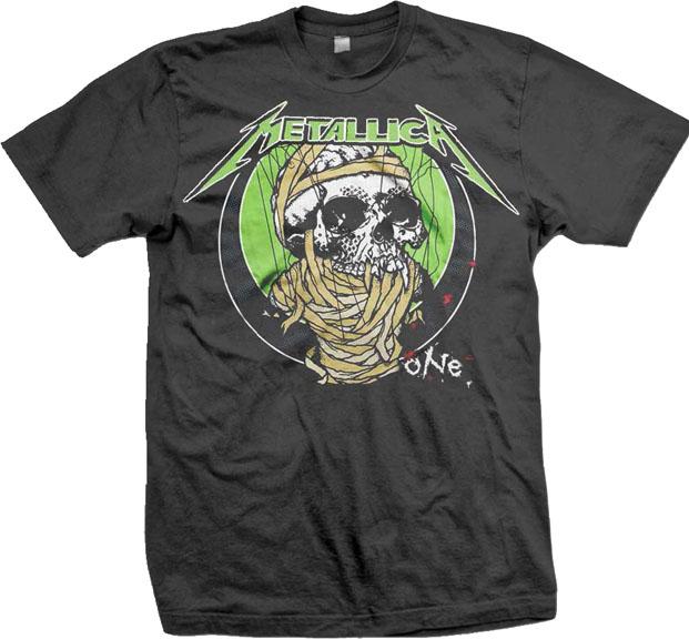 Metallica- One on a black shirt (Sale price!)