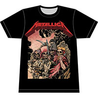Metallica- Four Horsemen on a black shirt