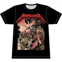 Metallica- Four Horsemen on a black shirt