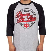 Down By Law- California Punk Rock on a grey/black 3/4 sleeve shirt (Sale price!)