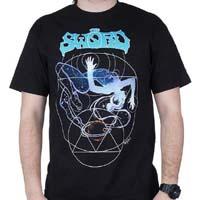 Sword- Horned Goddess on a black shirt (Sale price!)