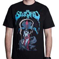 Sword- Barael's Blade on a black shirt