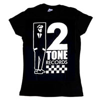 2 Tone- Walt Jazzco on a black girls fitted shirt