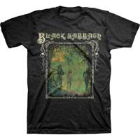 Black Sabbath- Framed Band Pic on a black shirt