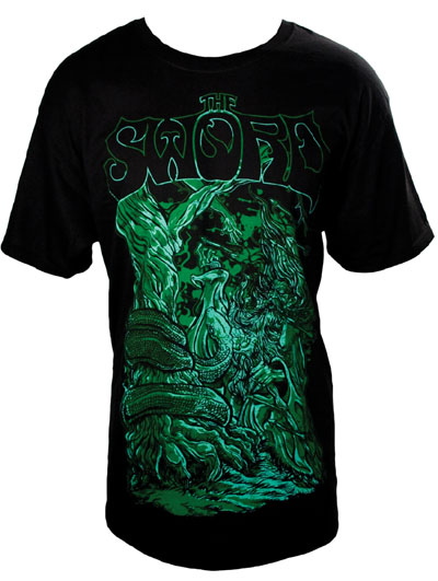 Sword- Under The Boughs on a black shirt (Sale price!)