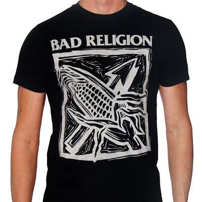 Bad Religion- Against The Grain on a black shirt