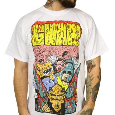 Gwar- War Party on a white shirt