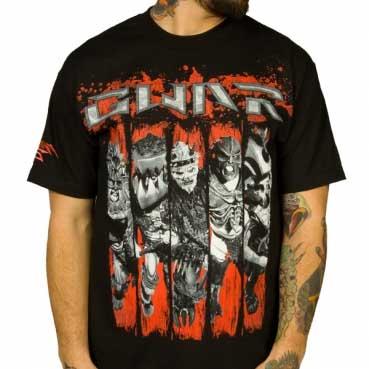 Gwar- Band Of Blood on a black shirt