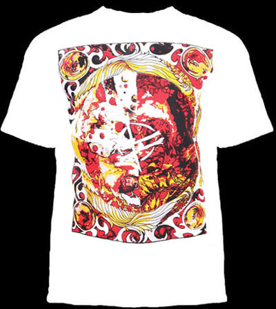 Fucked Up- Red Design on a white shirt (Sale price!)