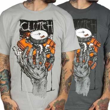 Clutch- Hess 454 shirt