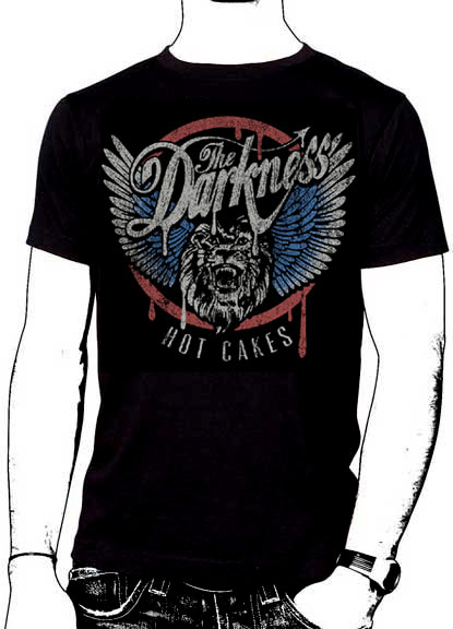 Darkness- Hot Cakes on a black shirt (Sale price!)