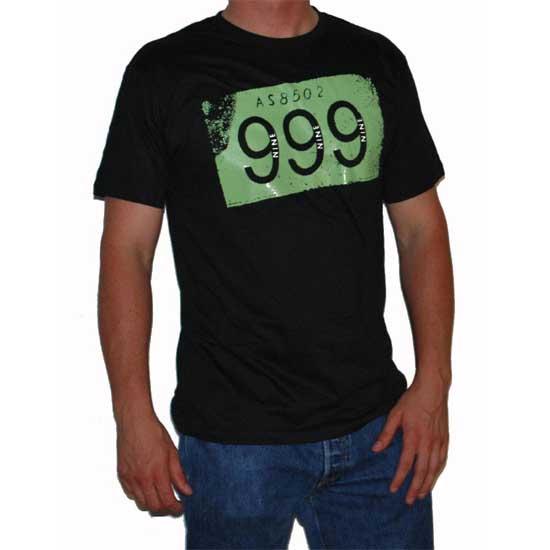 999- Logo on a black ringspun cotton shirt (Sale price!)
