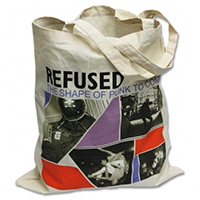 Refused- The Shape Of Punk To Come on a natural tote bag