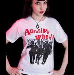 Abrasive Wheels- Cops on a white shirt