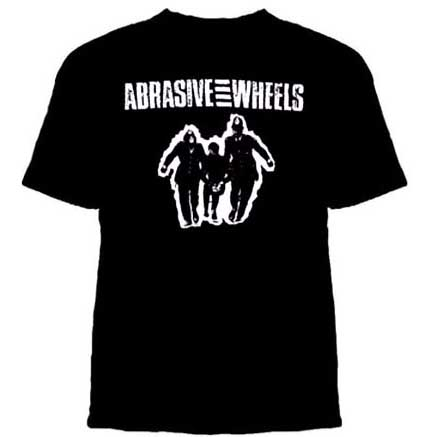 Abrasive Wheels- Cops Hauling Off Kid on a black shirt (Sale price!)