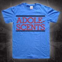 Adolescents- Logo on a blue TODDLER shirt
