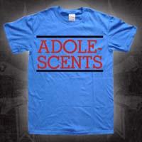 Adolescents- Logo on a blue TODDLER shirt