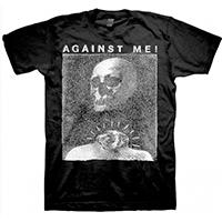 Against Me!- Skull on a black shirt