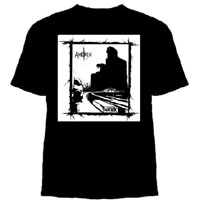 Amebix- Winter on a black YOUTH sized shirt (Sale price!)