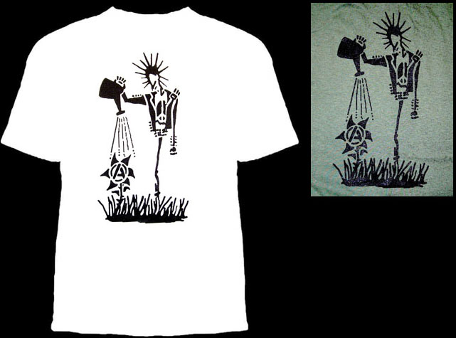Anarchy (Punk Watering Flower) shirt
