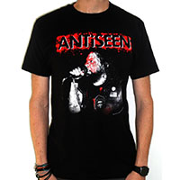 Antiseen- Bloody Singer on a black shirt (Sale price!)
