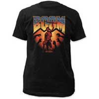 Army Of Darkness- BOOM on a black shirt