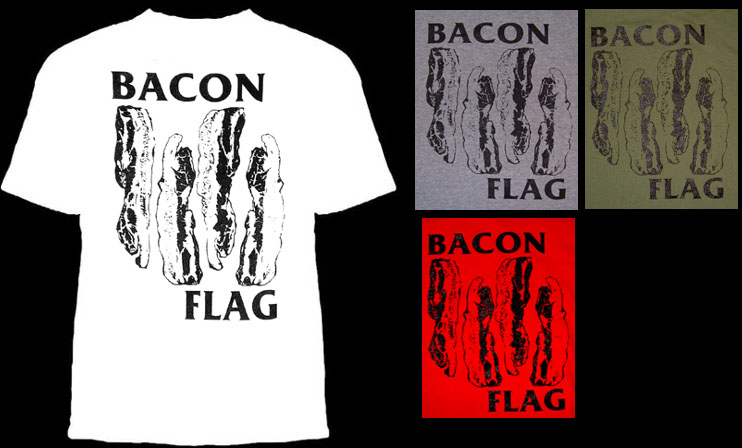 Bacon Flag shirt