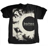 Bauhaus- The Sky's Gone Out (Large Print) on a charcoal ringspun cotton shirt