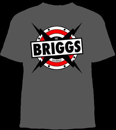 Briggs- Speaker on a grey shirt (Sale price!)