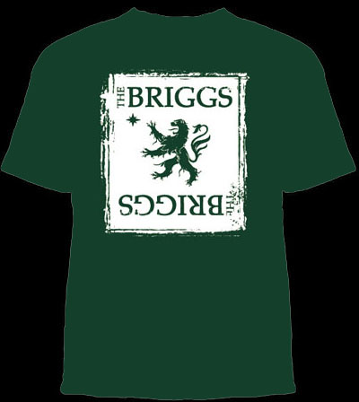 Briggs- Lion on a green shirt (Sale price!)