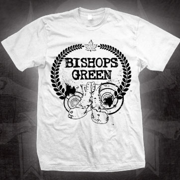 Bishops Green- Boots on a white shirt (Sale price!)