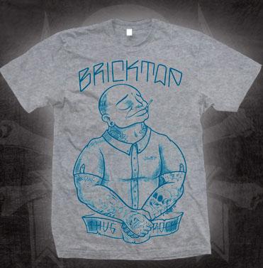Bricktop- Thug Rock on a grey shirt (Sale price!)
