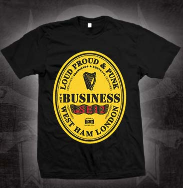 Business- Guinness Logo on a black shirt (Sale price!)