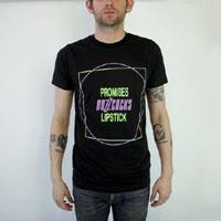 Buzzcocks- Promises on a black slim fit shirt (Sale price!)