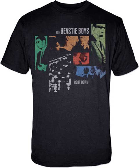 Beastie Boys- Root Down on a black shirt (Sale price!)