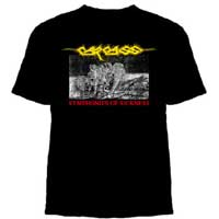 Carcass- Symphonies Of Sickness on a black YOUTH SIZED shirt