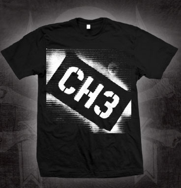 Channel 3- CH3 Logo on a black shirt (Sale price!)