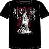 Cannibal Corpse- Butcher on a black shirt