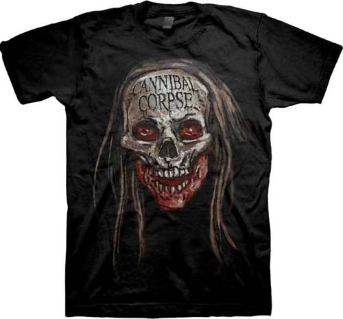 Cannibal Corpse- Butcher Head on a black shirt (Sale price!)