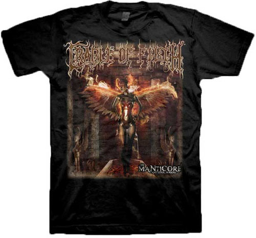 Cradle Of Filth- Manticore on a black shirt (Sale price!)