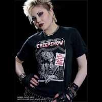 Creepshow- Ticketholder on a black shirt
