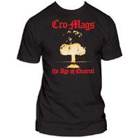 Cro Mags- Age Of Quarrel on a black shirt