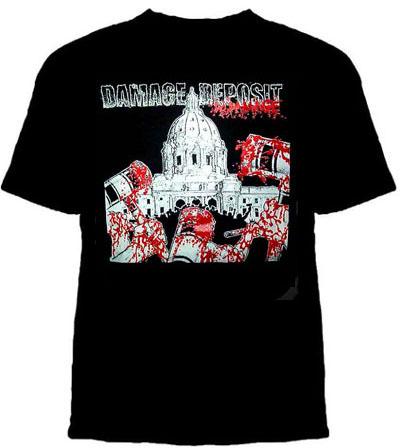 Damage Deposit- Do Damage on a black shirt (Sale price!)