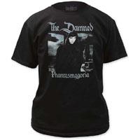 Damned- Phantasmagoria on a black shirt (Sale price!)