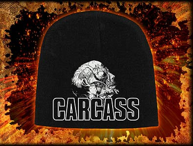 Carcass- Necro Head beanie
