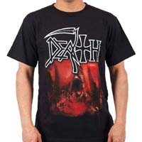 Death- Sound Of Perserverance on a black shirt