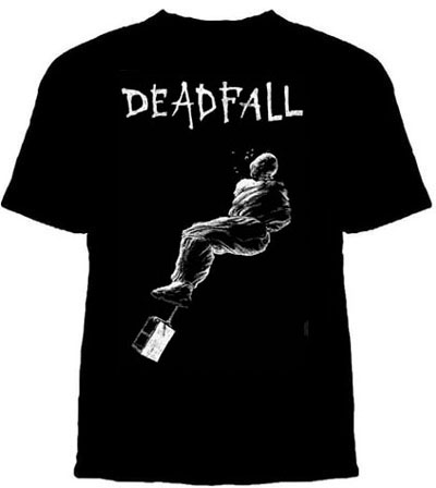 Deadfall- Drowning on a black YOUTH SIZED shirt (Sale price!)